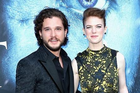Game Of Thrones Stars Kit Harington And Rose Leslie Are Engaged