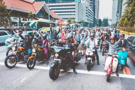 Distinguished Gentleman's Ride: Suited for a good ride