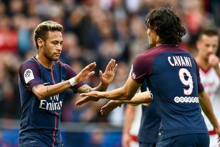 Emery: Both Neymar and Cavani can take penalties