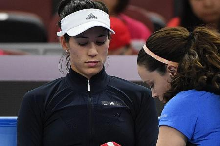 Don't blame pressure for Muguruza's struggles