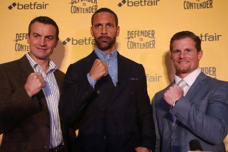 Ferdinand doesn't plan on lengthy spell as boxer
