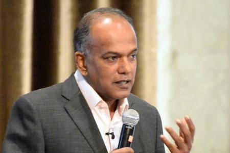 Sylvia, Shanmugam cross swords on presidential term count