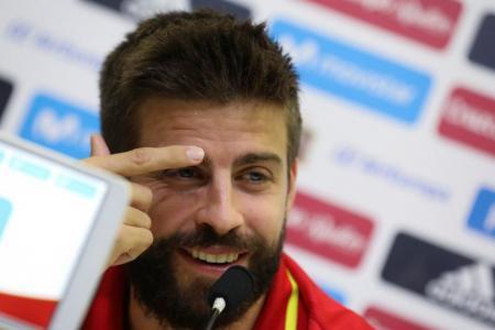Pique would not quit Spain despite criticism from fans