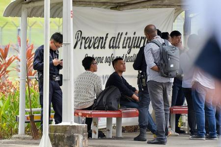 Two detained at Bishan Depot, no arrests made