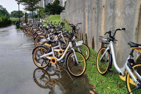Bike-sharing firms set to tackle errant users