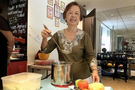 Community cafe empowers the seniors