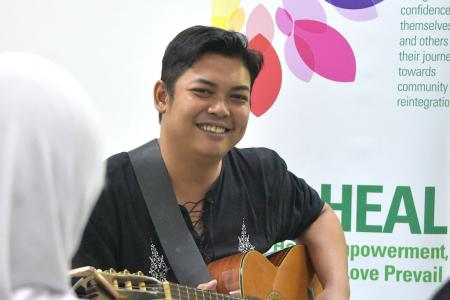 Singing out against mental health stigma