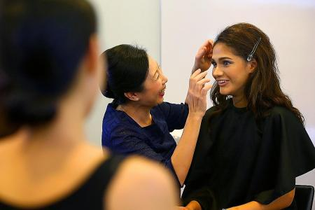 Mastering the art of make-up