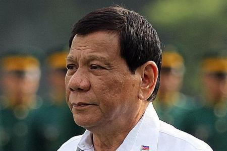 Duterte's ratings down, but still positive