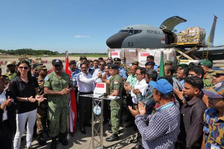 SAF delivers supplies to Rohingya refugees in Bangladesh