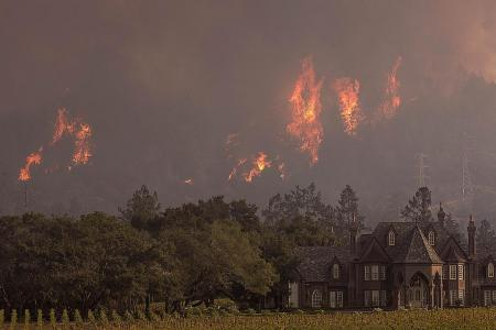 California wildfire death toll hits 40