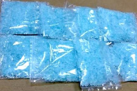 $20,000 worth of Ice seized at Woodlands Checkpoint