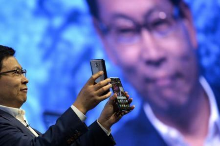 Huawei Mate 10 on Munich stage