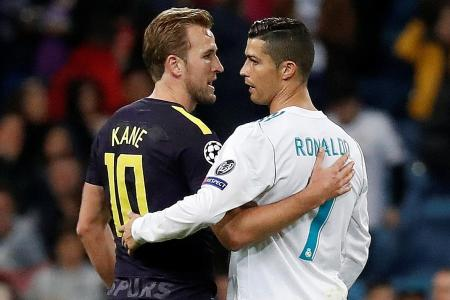 Benzema out, Kane in