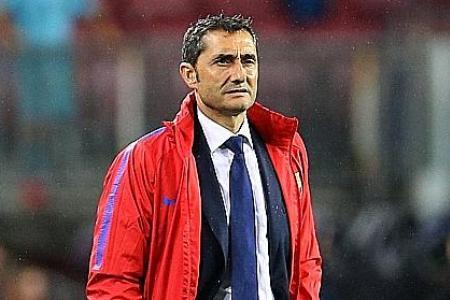 Calm Valverde focused on football matters