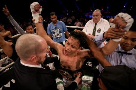 Ridhwan wins IBO International title