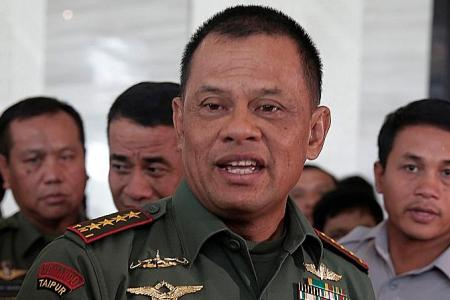 Indonesian military chief free to travel to US