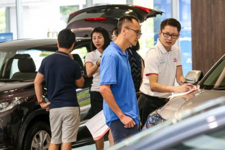 Cut in COEs for cars, motorbikes from February