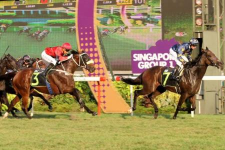 Gray misses Raffles Cup but gets a four-timer