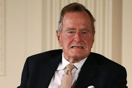 Actress accuses ex-US president George H. W. Bush of groping her