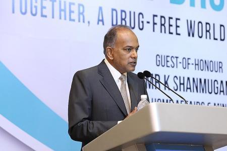 Death penalty vital in drug fight: Shanmugam