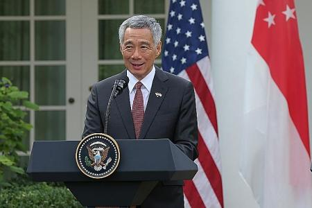 Strong US-S'pore ties important: PM Lee