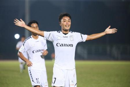 Albirex set to retain S.League crown after stroll over Balestier