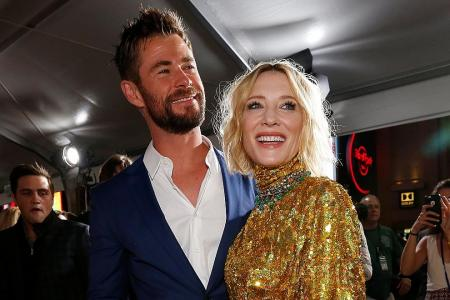 Playing Hela was hella of fun for Blanchett