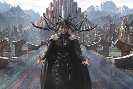 Playing Hela was hella of fun for Blanchett