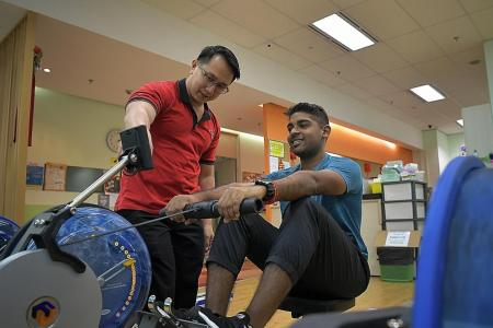 More heart patients using SHF's facilities to exercise, get consultations