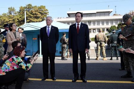 US goal 'is not war' with North Korea: Mattis