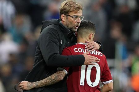 Liverpool dealt Coutinho blow