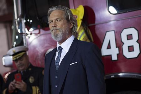 Jeff Bridges feels the heat - on and off screen