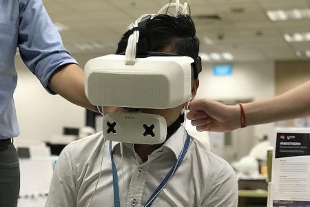 ITE students develop multi-sensory virtual reality game