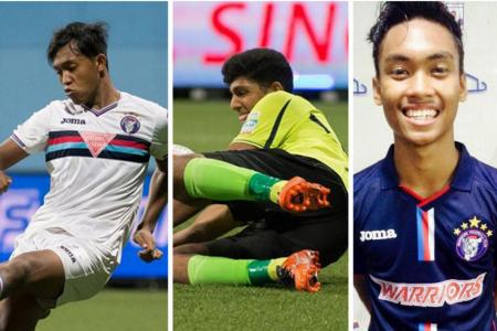 Warriors' teen trio tipped for the S.League
