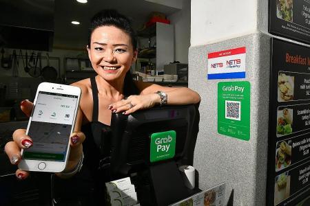 GrabPay available at eateries in CBD, Bishan