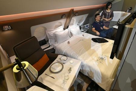Bigger economy seats for SIA's A380s