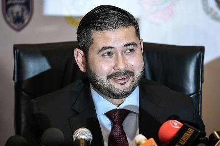 Johor Crown Prince: Keep politics out of football