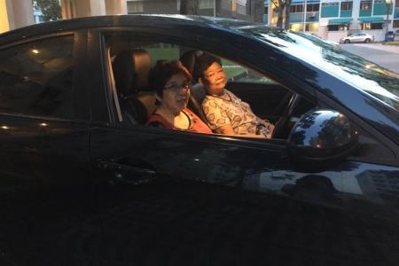 Clerk is volunteer driver for elderly diabetic