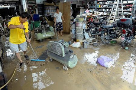 Nearly 6,000 evacuated in Penang floods