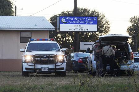 Gunman kills 26 in Texas church, dies of gunshot wound
