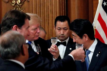 Trump: Japan can shoot down missiles
