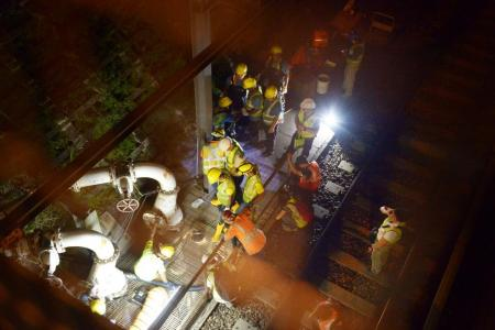 SMRT finds more faulty pumps in tunnels