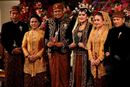 Indonesia stops for wedding of president's daughter