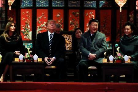 Trump gets royal treatment in Beijing