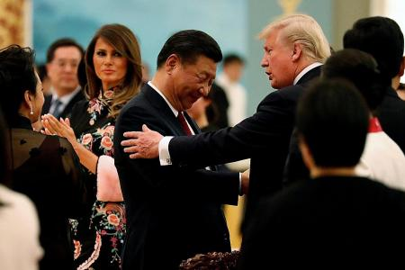 Trump gushes, Xi grins in US-China lovefest