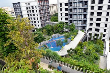 URA announces plan to double high-rise greenery by 2030