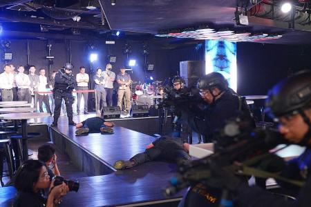 First anti-terror drill conducted in Clarke Quay