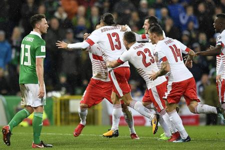 Northern Ireland blast penalty decision