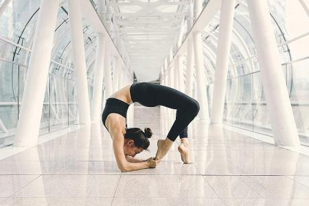 She would 'go mad' without yoga